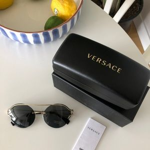 Versace GOLD V-POWERFUL SUNGLASSES Sunglases